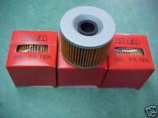 "1976 Honda CB550 CB550K CB550F 3 Oil Filters With ""O"" Rings CB 500 15412-426-000"