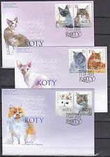 POLAND 2010 FDC SC#  - The Cats