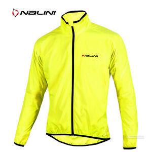 NEW Nalini ARIA Full Season Lightweight Windproof Cycling Jacket : YELLOW FLUO