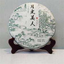 Raw Puerh Tea Organic Moonlight Beauty Menghai Puer Moonlight Sheng Pu-erh 357g
