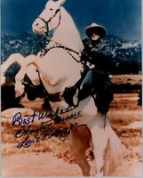 Clayton Moore 20x25cm u.a. Lone Ranger RAR TOP GF 789 UH