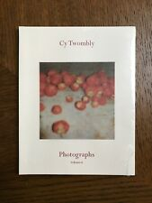 Cy Twombly  : Photographs Volume II Catalogue : Gagosian London Gallery
