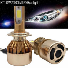 H7 110W 20000LM LED Headlight Conversion Kit Car Beam Bulb Driving Lamp 6000K
