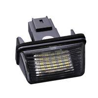 2pzs 18 LED SMD Lampara luz placa numero matricula para Peugeot 206 Citroen L3J6