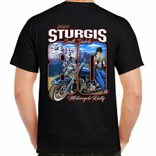 T Shirt Sturgis Rally 2020 80th Anniversary Biker Motorcycle monument no Harley