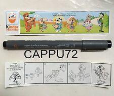 FIBBER FOX (Cartina) K96-57 smontabili Yogi bear kinder sorpresa 1995
