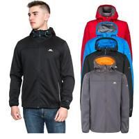 Trespass Zeek Mens Soft Shell Jacket Waterproof Breathable Coat with Hood