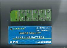 Box of Twenty 10-pack cards AG6 Tiantan Batteries : 200 Batteries