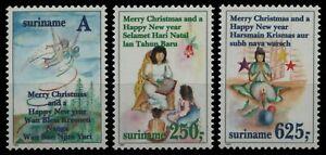 Surinam 1994 - Mi-Nr. 1497-1499 ** - MNH - Weihnachten / X-mas