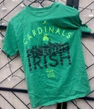 St. Louis Cardinals,St. Louis Irish T-Shirt By MLB Gen Merch/Majestic Unisex