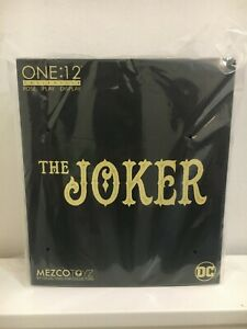 Mezco One:12 Collective The Joker: Gotham by Gaslight - Deluxe Edition Sealed
