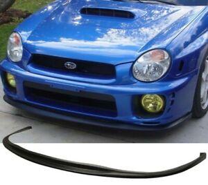 For 02 03 Subaru Impreza Bugeye Model Front Plastic Bumper Splitter Spoiler Lip