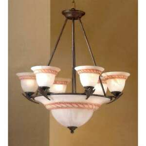 Classic Lighting Roma Traditional Chandelier, Bronze - 40409BZ