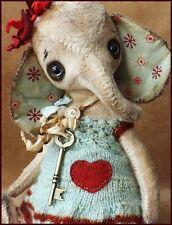 Alla Bears artist Valentines Engagement wedding shower mint aqua