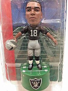 NFL Raiders Randy Moss #18-Pocket Pros-Action Figurine-Free Shipping