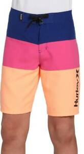 Hurley boys youth Board Shorts Swim Trunks Navy ~ Pink ~ Orange *Choose Size*