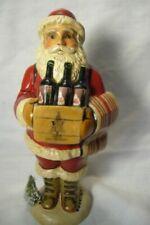 Vaillancourt Folk Art Wine Santa Chalkware Figurine Made in USA