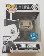 Funko Pop Heroes 06 DC Super Heroes The Joker Black And White Exclusive