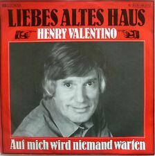"7"" 1981 RARE MINT-! HENRY VALENTINO : Liebes altes Haus"