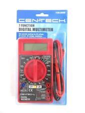 Cen Tech 7 Function Digital Multimeter Voltmeter Voltage Tester Auto Electrical