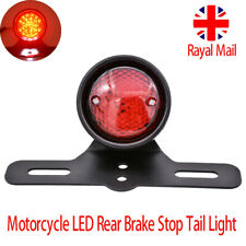 12v Universal Led Motorcycle Quads Maltese Cross Tail Brake Lamp Rear Red Light Wide Selection; Electric Vehicle Parts Accessories