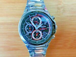 Rare Seiko F1 Honda Racing Team SND661 (7T92-0GV0) Quartz Chronograph Watch