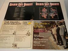 lot 4 LP jazz GOLDEN GATE QUARTET all over this world & DOUBLE ALBUM ginyard
