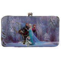 Frozen - Group Shot Reverisble Kiss Lock Wallet