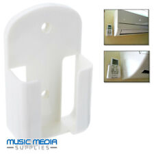 Air Conditioner TV Remote Control Holder Wall Mounted Storage Case Box White