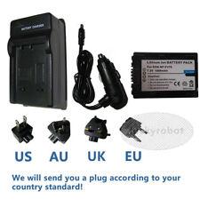 Battery + Charger for Sony NP-FV30 NPFV30 NP-FV50 NPFV50 NP-FV70 NPFV70 NP-FV100