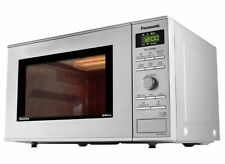 Panasonic Freestanding 23L Grill Microwave 1000W 6 Power Levels in Silver
