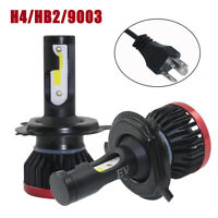 H4 HB2 9003 LED 150W 25000LM Coche Headlight Kits Luz Bombillas Lámpara 6500K