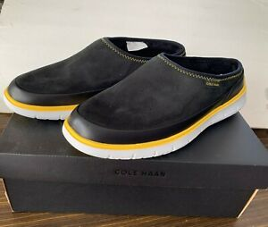 Cole Haan Generation Zerogrand Dweller Shearling Slippers Size 12 NIB