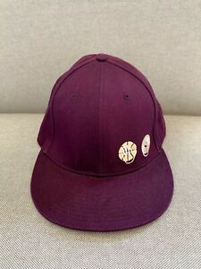 Nike 7 3/8 59cm Love Snapback Hat Cap Purple