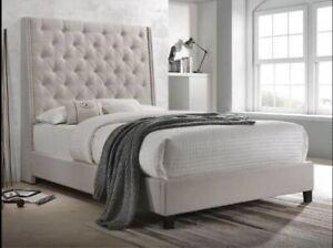 Khaki Bed Frame