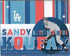 2005 Dodger Stadium Exclusive SGA Sandy Koufax Action Statue New In Box