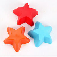 5pcs DIY Cake Mold Soap Cute Little Star Silicone Mould Candy Chocolate Cake L