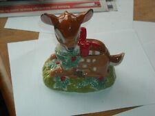 Vintage Disney China Christmas Bambi Sugar Bowl