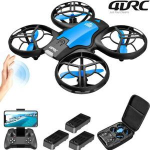 V8 New Mini Drone 4K 1080P HD WiFi Fpv Air Quadcopter RC Dron Toy Gift 2021