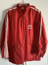 Adidas Regen Jacke Rain Jacket Windbreaker Coat Vintage Nylon D 48 Medium