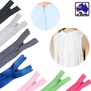 10pcs 50cm Invisible Zip Zipper Nylon Closed End Sewer Sewing Craft DIY TZI0050