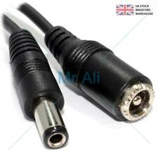5m DC Power Supply Extension Cable 12V for CCTV Camera/DVR/PSU Lead uk stock