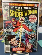 Marvel Spotlight #32. 1st Spider-Woman. Beautiful Raw Copy