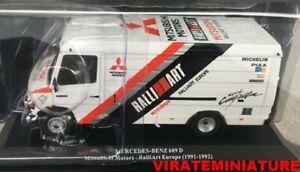 MERCEDES 609D ASSISTANCE RALLYE TEAM MITSUBISHI RALLIART 1991-1992 ALTAYA 1/43