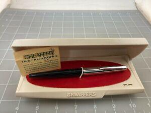Judd's Nice Vintage Sheaffer #202 Fountain Pen w/Steel Fine Nib in Original Case