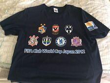 FIFA Club World Cup 2012 - Tshirt XL - Chelsea Corinthians MONTERREY AL AHLY