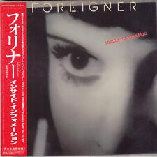 FOREIGNER Inside Information CD MINI LP