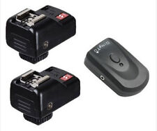PT-04 4 Channels Wireless Flash Trigger+2 Receivers for Yongnuo Canon Nikon DSLR