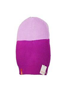Verloop knits ribbed colorblock balaclava lilac ski mask NWT