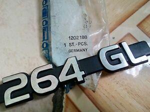 Original emblem Volvo 260 264 GL EMBLEM BADGE NOS